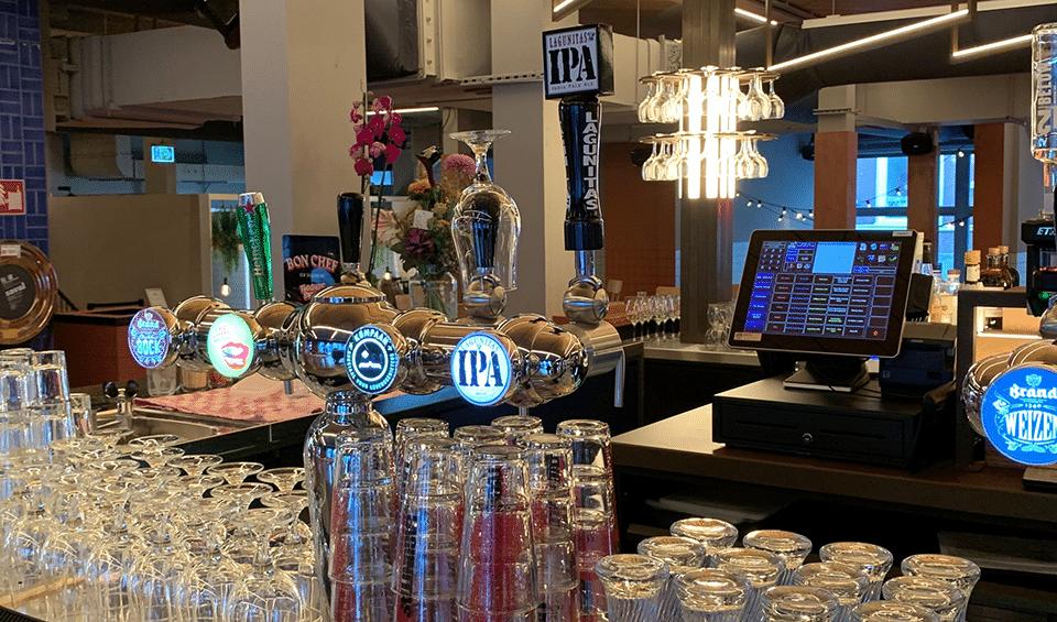Foodhallen Den Haag unTill kassasysteem